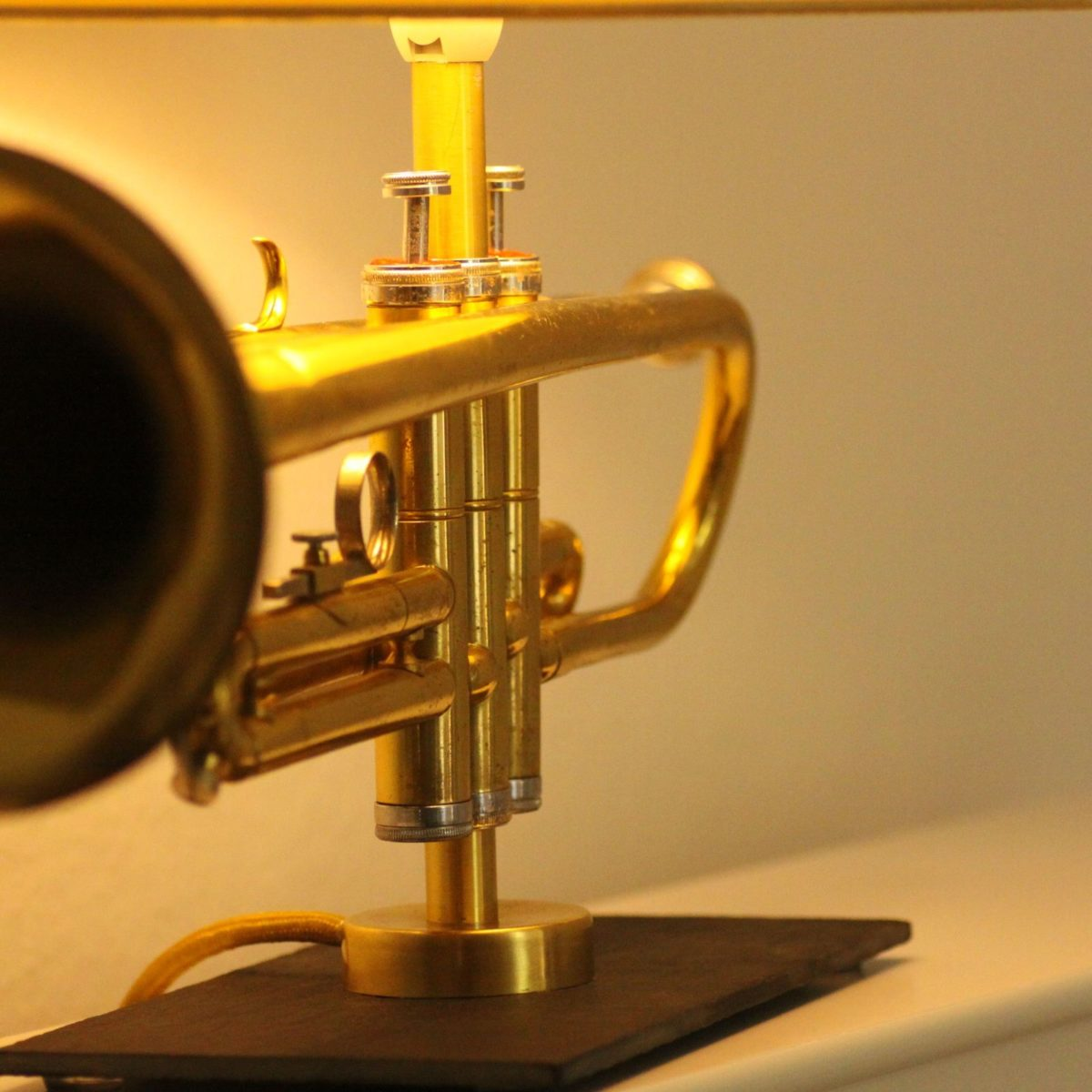 Trompete_Lampe_Vintage_Design_#01A